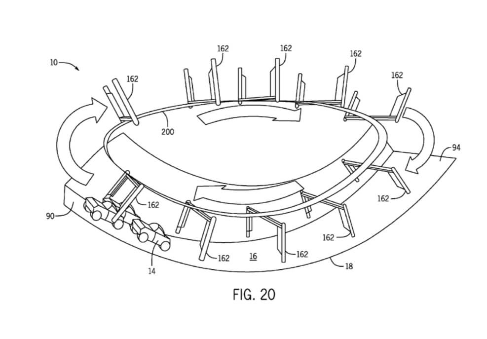 PHOTOS: New patent hints at another projection-based