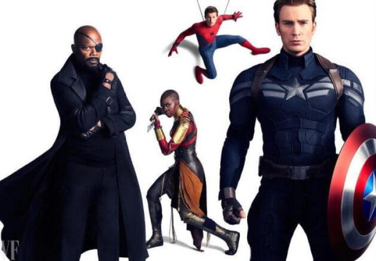 Image result for marvel vanity fair cover