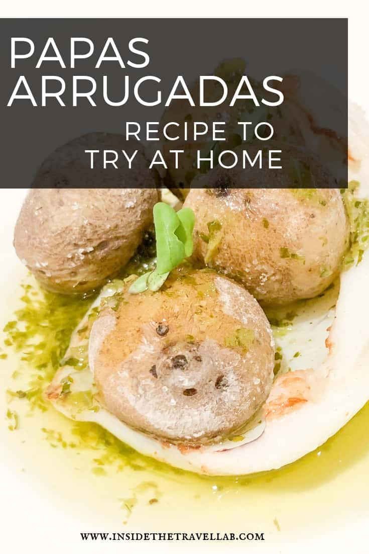How to make papas arrugadas a recipe from the Canary Islands