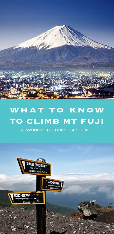 What to know to climb Mt Fuji via @insidetravellab