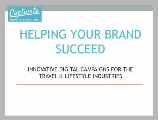 Captivate Case Studies - Helping Your Brand Succeed