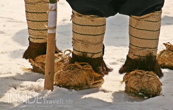 Winter festival shoes