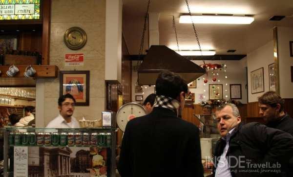 Buffet da pepi bar in Trieste