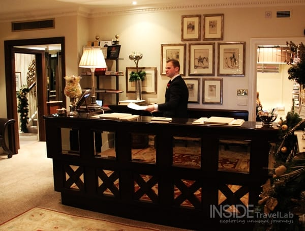 Egerton Hotel Reception