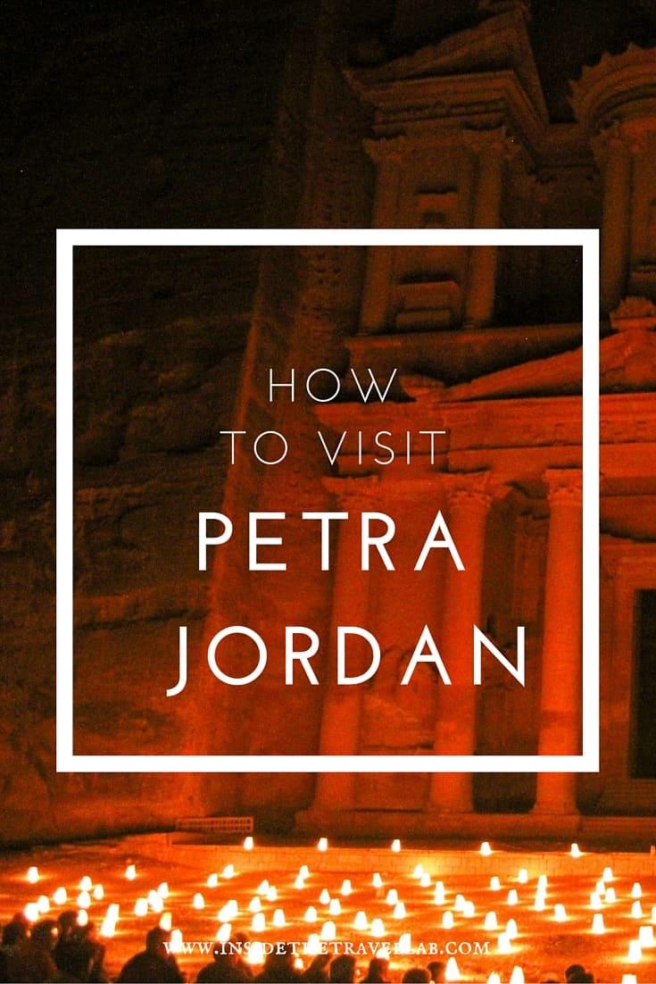 How to Visit Petra Jordan - top tips and a description of beauty. Via @insidetravellab