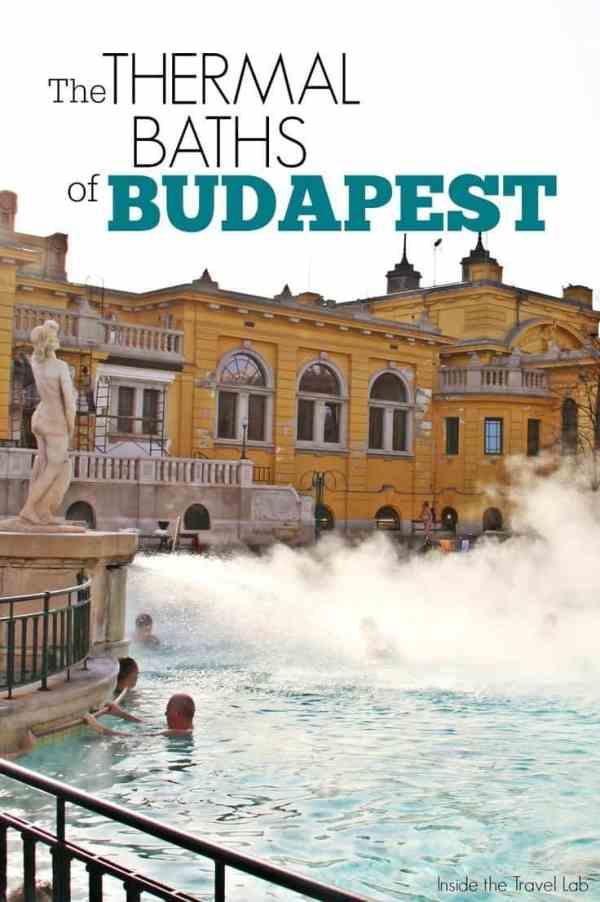 Thermal baths of Budapest via @insidetravellab