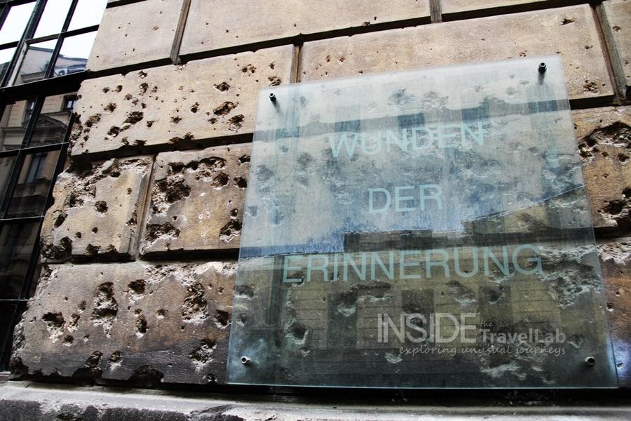 Vienna bullet marks