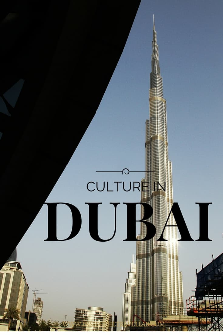 Culture in Dubai