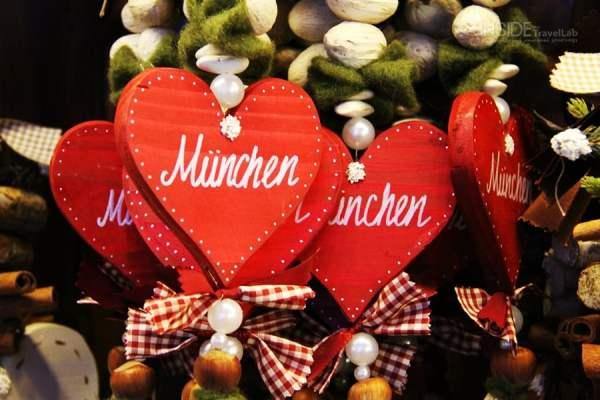 Munich Christmas Market Hearts