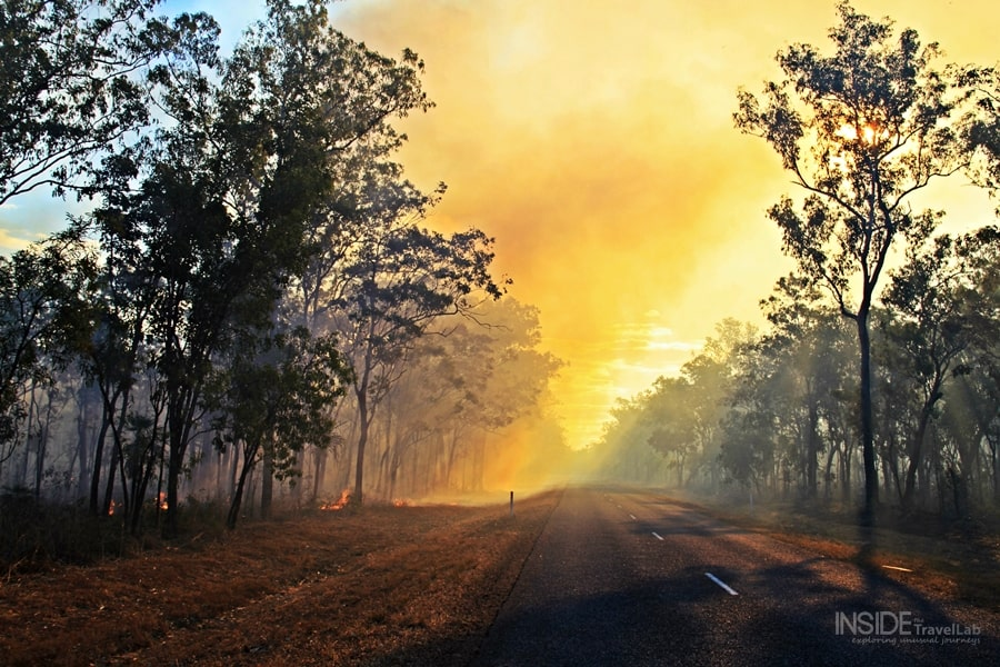 Kakadu Park Forest Fire