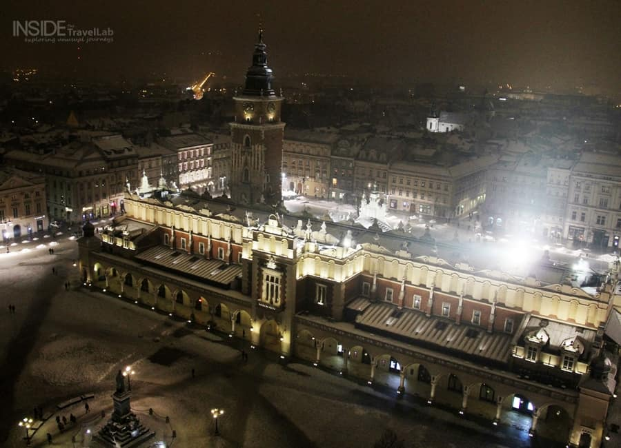 Photos of Krakow in the snow003
