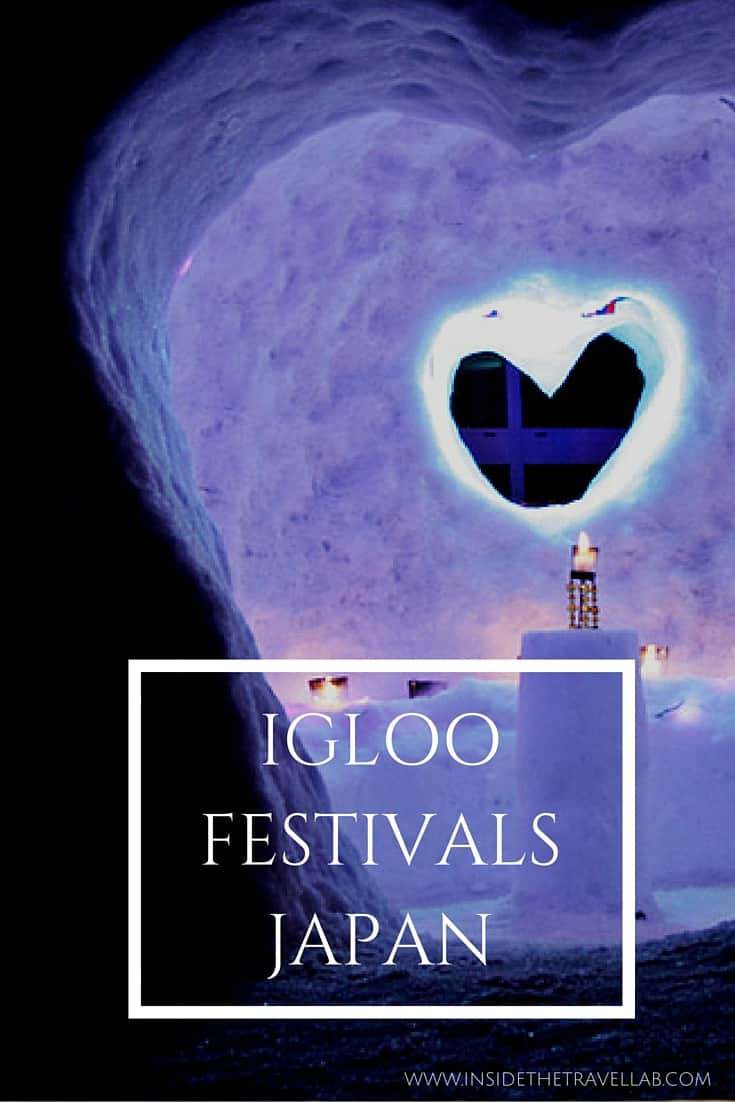Igloo Festivals in Japan - an amazing travel experience via @insidetravellab