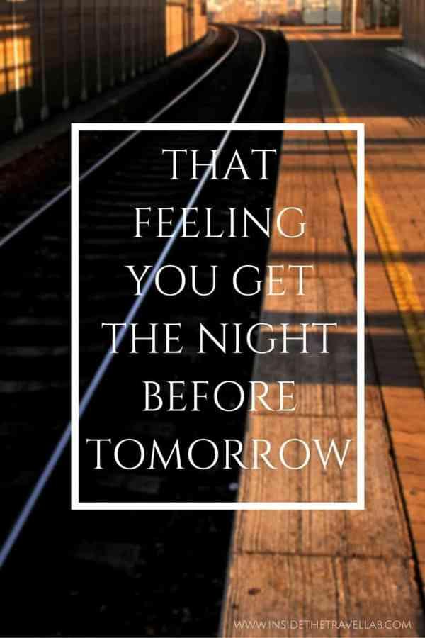 Preparing to travel: that feeling you get the night before tomorrow via @insidetravellab