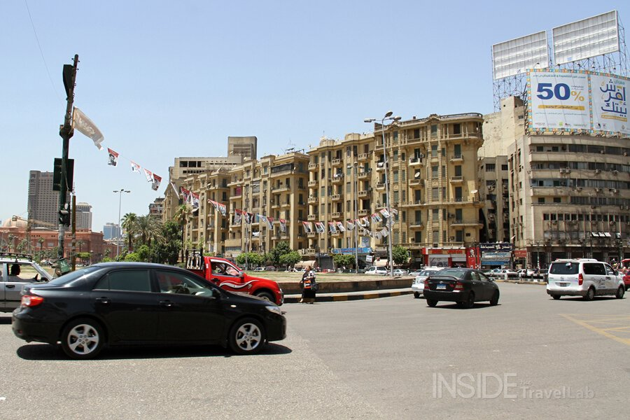 Tahrir Square in June