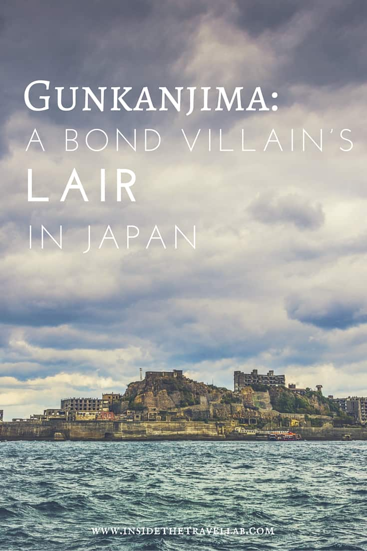Unusual things to do in Japan > The Japanese call it Gunkanjima. But Bond knew it as the base camp for Silva, his archenemy in the Blockbuster Skyfall - via @insidetravellab