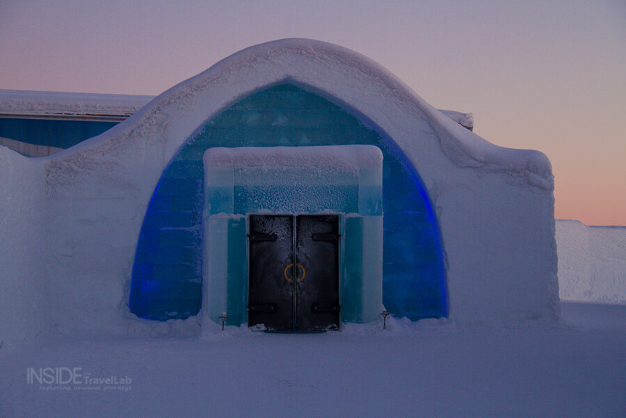 Get married in an ice chapel