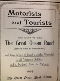 History of the Great Ocean Road