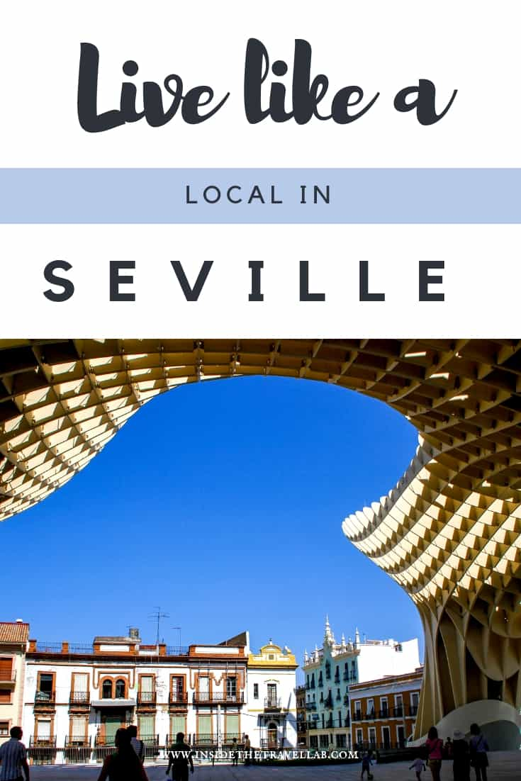 Live like a local in Seville. Explore this beautiful Spanish city in Andalusia with these unusual things to do in Seville. Based on years living there, from Spanish food to Spanish traditions, these suggestions make for a great trip. Enjoy! #Seville #Sevilla #SpaininMyHeart #Andalucia #Andalusia #Spain