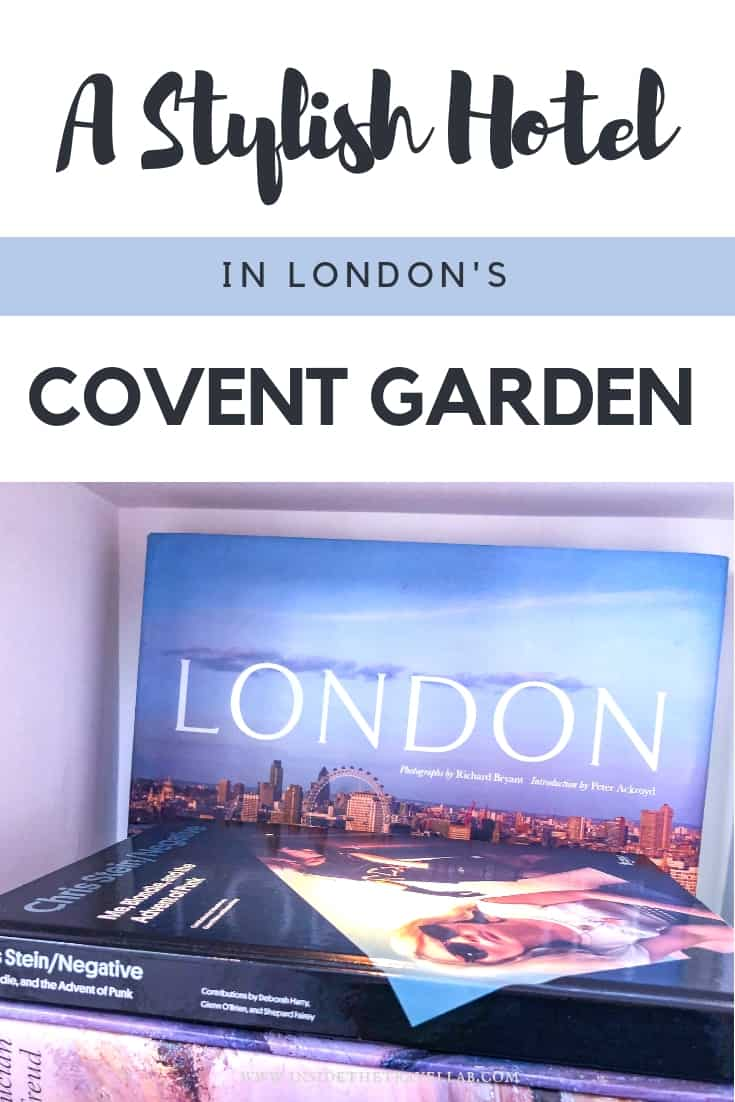 A lovely, stylish luxury hotel in London's Covent Garden complete with swimming pool, spa and light, airy restaurant. Perfect for a place to stay in London for a night on the West End or for other activities in central London. #London Luxury Hotels London. #Ldn #CoventGarden #BoutiqueHotel #luxuryhotel