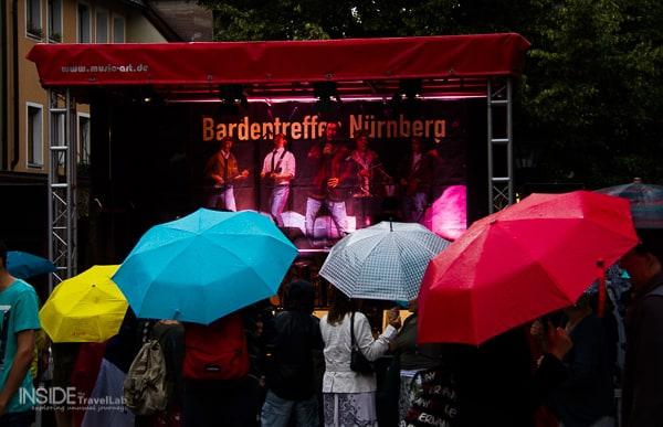 Rain in Bardentreffen