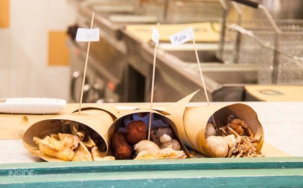 A streetside treat in Naples
