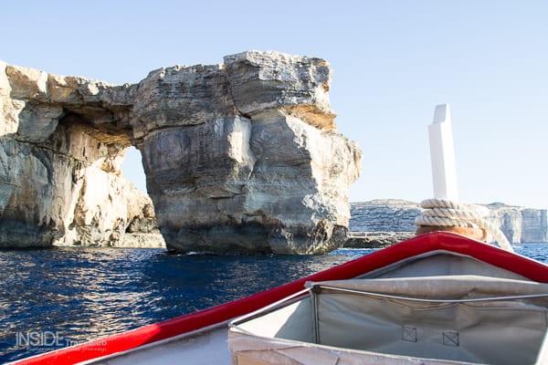 Boat trip around the Azure Window Gozo