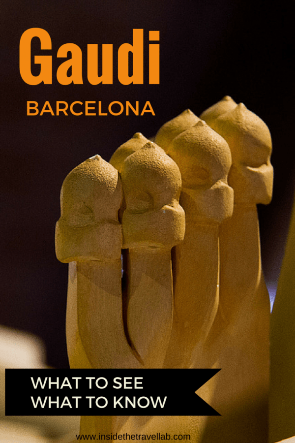 What you need to know about Gaudi Barcelona including tours, history and inspiration from @insidetravellab