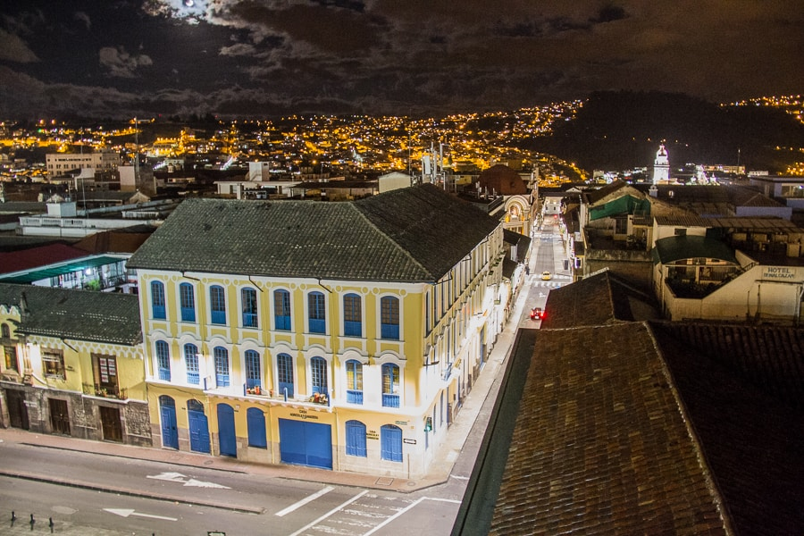 Quito by Night on @insidetravellab