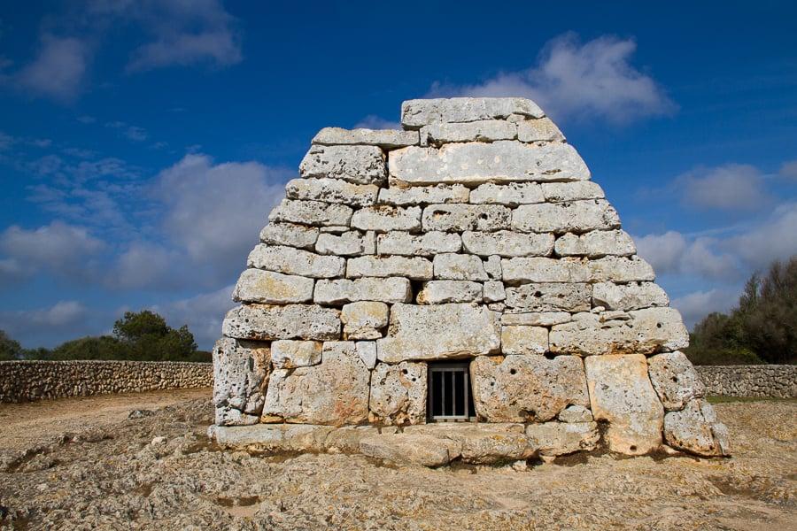 Naveta d'es Tudons UNESCO World Heritage Site Candidate in Menorca from @insidetravellab