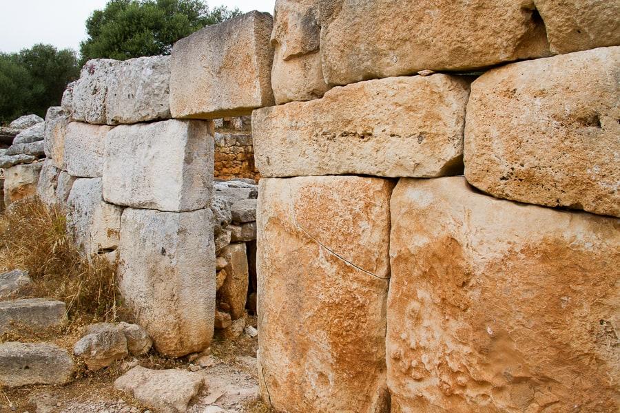 Sandy stones at UNESCO World Heritage Site candidate in Menorca via @insidetravellab