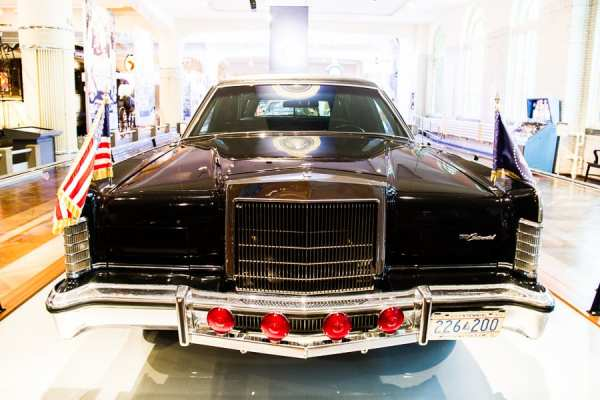 Presidential car at Henry Ford Museum @insidetravellab
