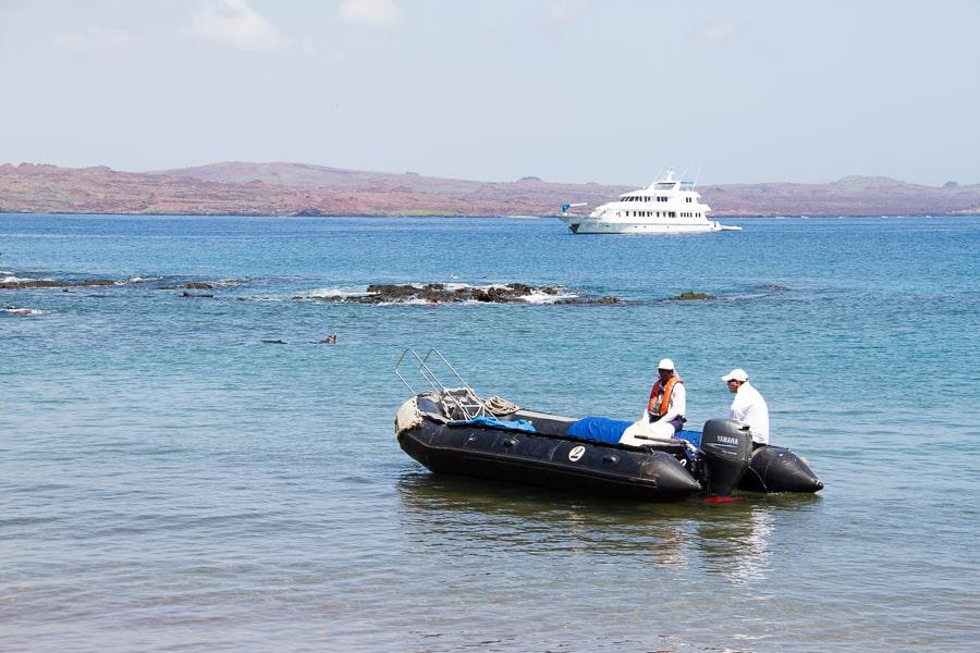 Boat trips from La Pinta