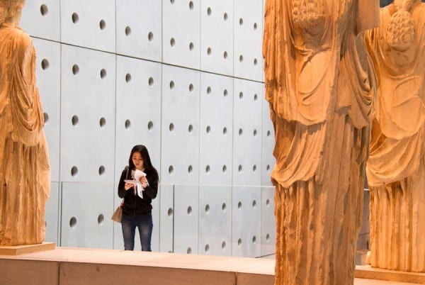 Visiting the Acropolis Museum in Athens via @insidetravellab