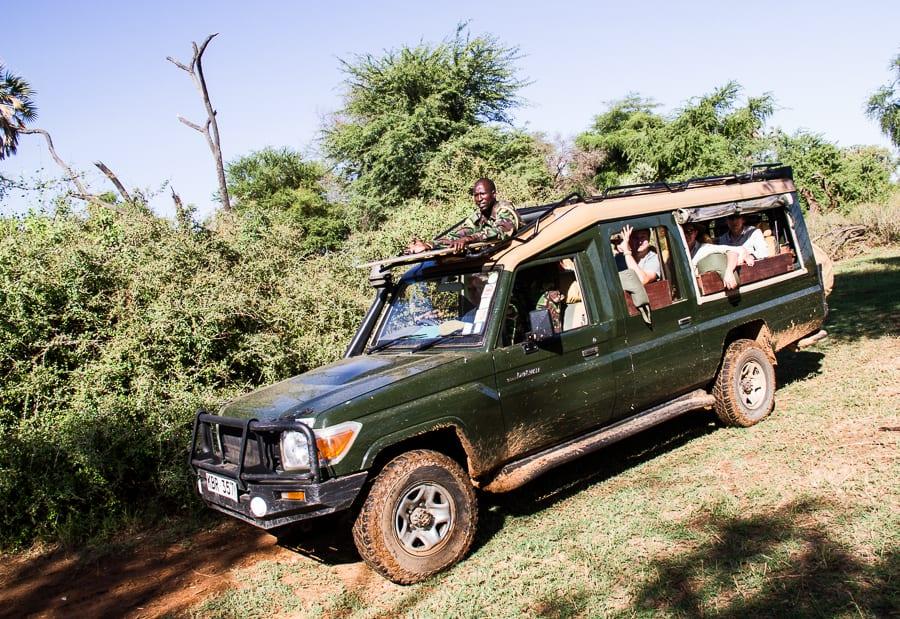On safari in Kenya at Sasaab Lodge via @insidetravellab