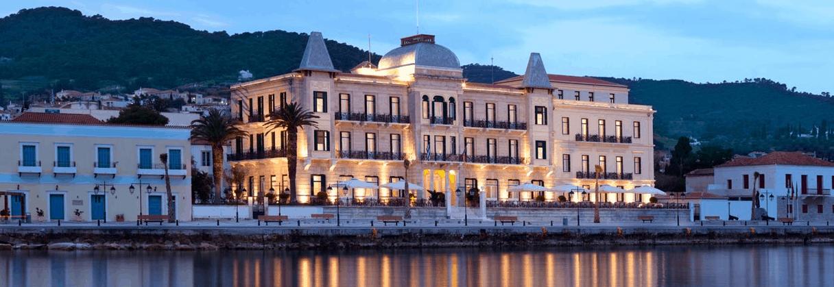 Poseidonion Hotel in Spetses Greece