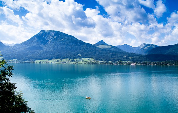 The stunning lakes of Austria's Salzkammergut via @insidetravellab