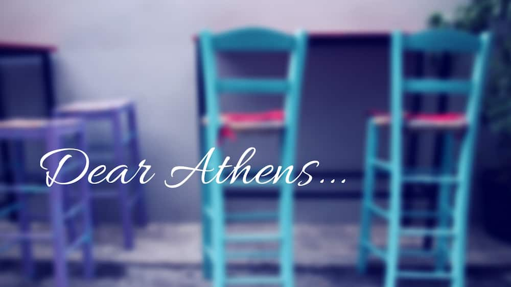Dear Athens...How to see Athens like a local via @insidetravellab