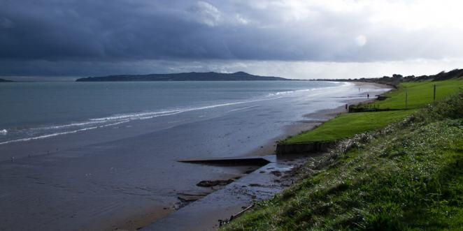 The coast of Dublin via @insidetravellab