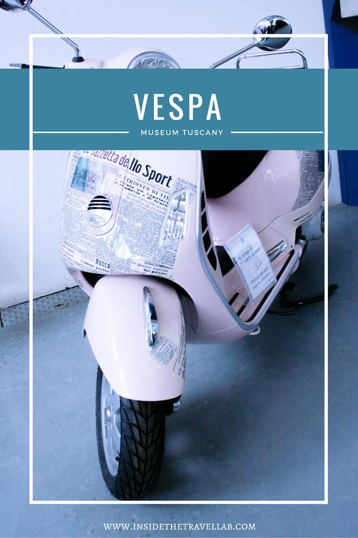 The sexy vespa museum in Tuscany, Italy via @insidetravellab