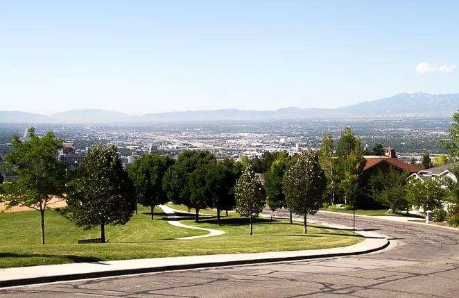 Modern Salt Lake City