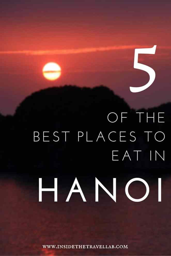 Highlights of Vietnam > To experience some of the culinary delights of Vietnam, head to Hanoi. Here I recommend 5 of the best places to eat in Hanoi. - via @insidetravellab
