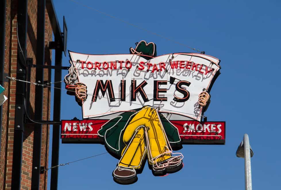Edmonton Street Sign