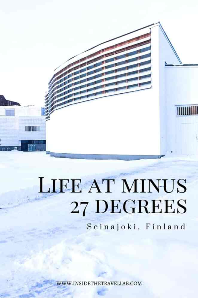 Unusual things to do in Finland. While the architecture is interesting enough, the chance to watch everyday life at extraordinary temperatures is all the more captivating. - via @insidetravellab