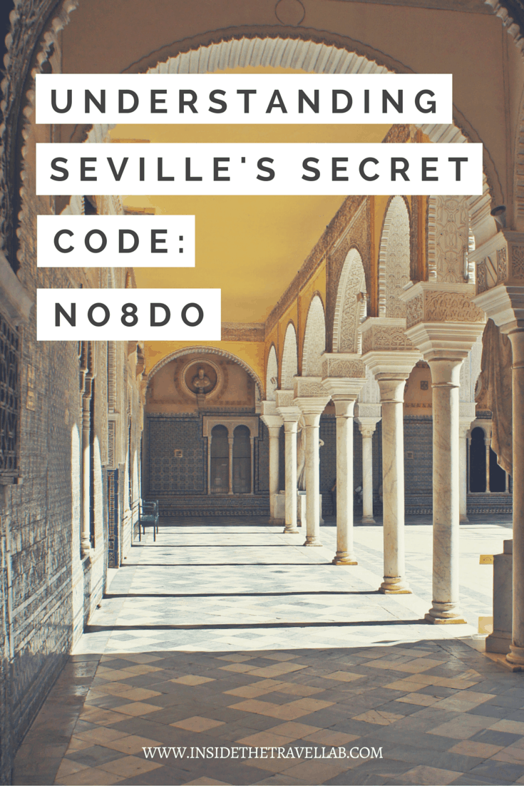 Highlights of Seville. NO8DO is the motto of Seville, but what's it all about? The key to the puzzle lies in the central number eight. - via @insidetravellab