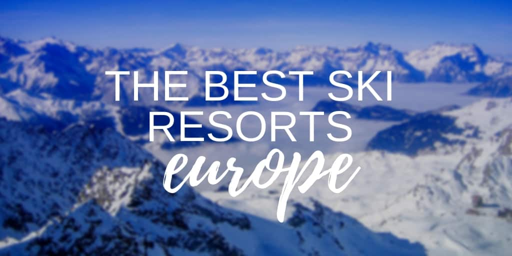 The Best Ski Resorts in Europe - Twitter