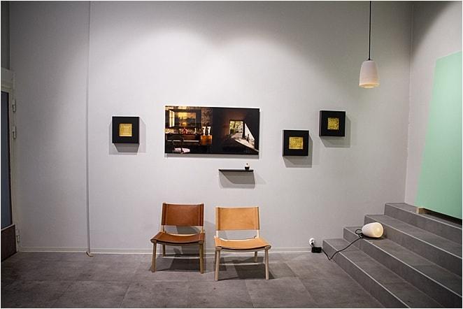 Art exhibition at Lokal in Helsinki's Design District