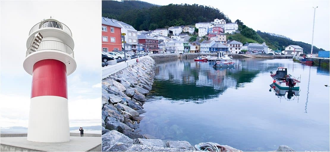 Galicia Spain-Lighthouses and fishing villages