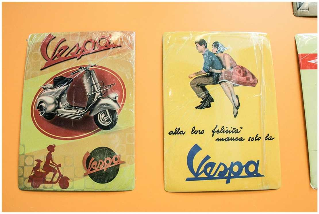 Creating the Vespa in Italy