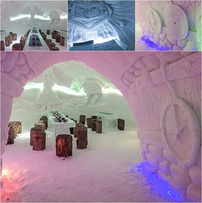 Ice dining in Finland