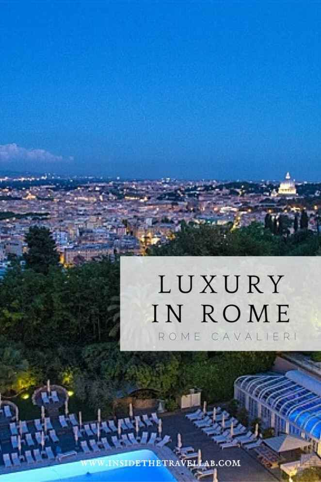 One of the best views of Rome at the Rome Cavalieri
